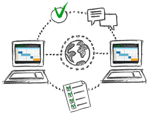 Tom's Planner Project Management Software Image