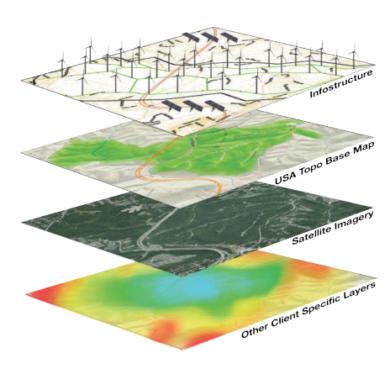 gisAPMS geospatial visualization