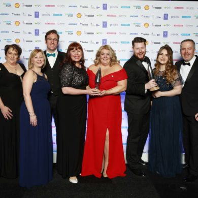 """APM Project Management Awards 2019 """"Overall Project of the Year"""" Award Winners, the North Cumbria University Hospitals Trust & Cumbria Partnership NHS Foundation Trust – Maternity Information System"""