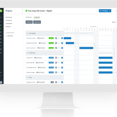 inMotion now new project management features