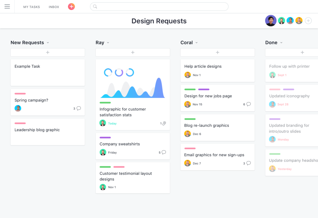 Asana Project Management Software For Architects Screenshot