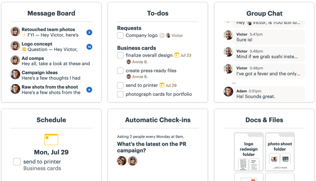 Basecamp Project Management Software For Architects Screenshot