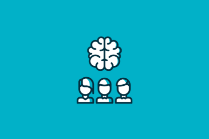 Featured Image of PMO Success_ Changing Your Employees' Mindset brain with three employees underneath