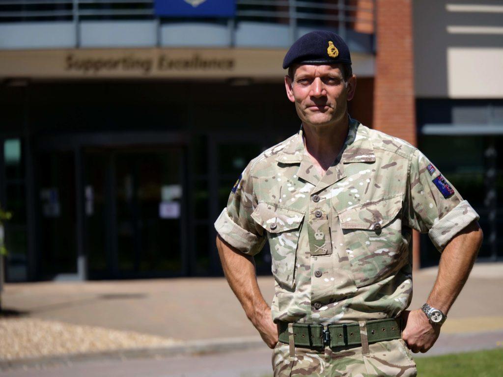 Photo of Standing Joint Commander (UK) Lieutenant-General Tyrone Urch CBE