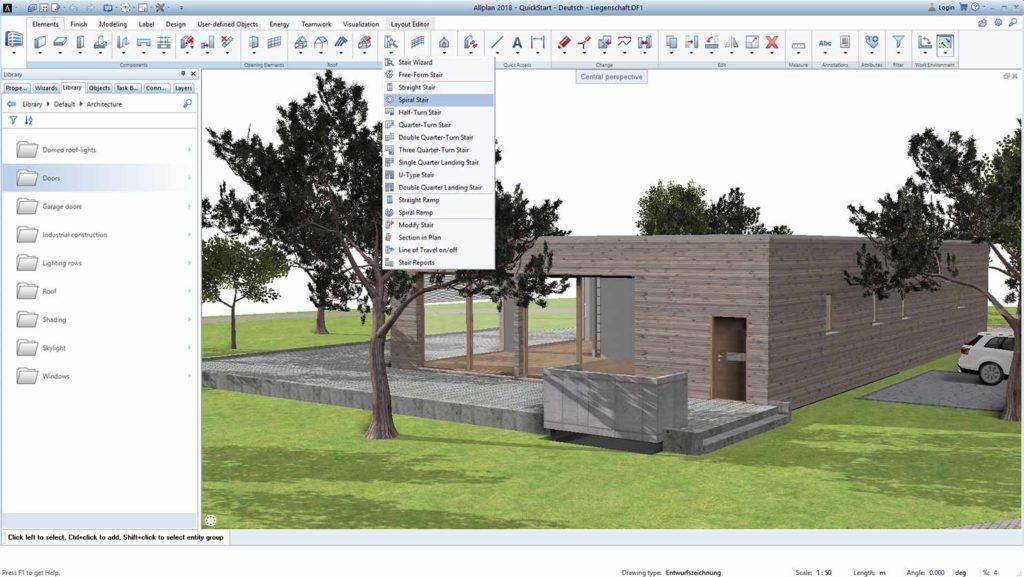 AllPlan Building Information Modeling (BIM) Software