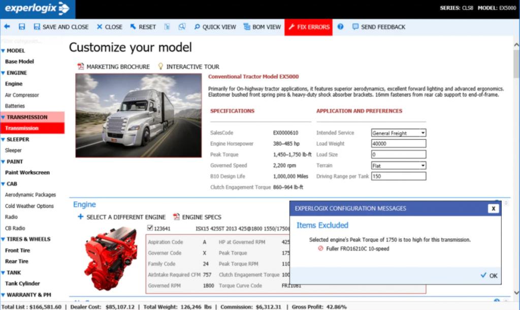 Experlogix Experlogix CPQ Software Vendors Screenshot