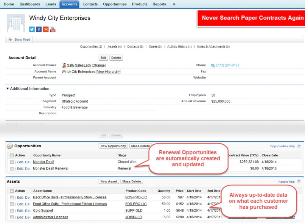 Oracle CPQ Software Vendors Screenshot
