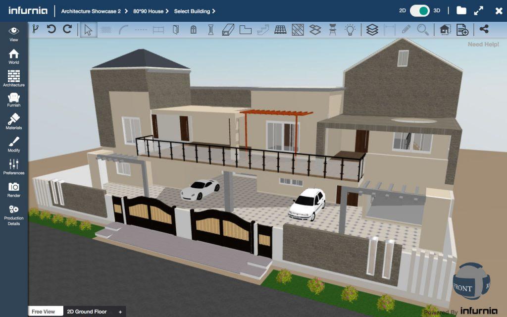 Infurnia Building Information Modeling (BIM) Software